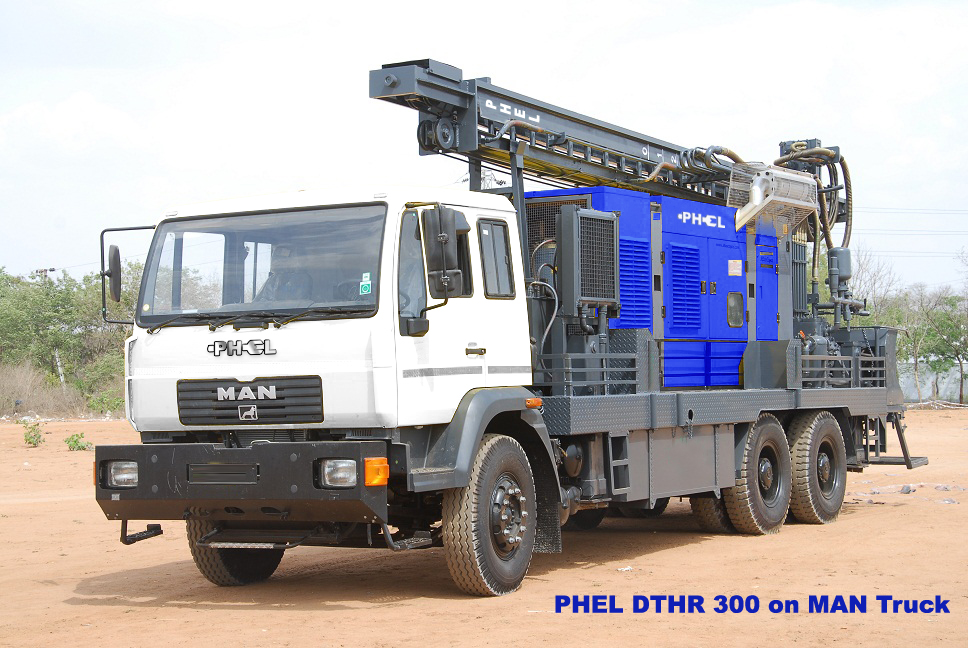 PHEL DTHR 300 on MAN Truck